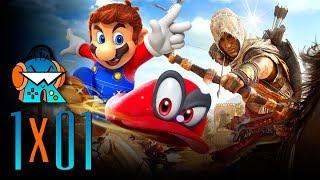 Reconectados 1x01: Sucesor de Podcast LaPS4. Super Mario Odyssey, Assassin's Creed Origins