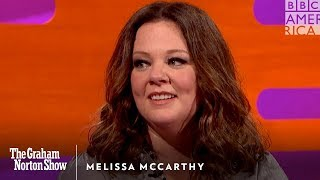 melissa mccarthy wished chris hemsworth was a jerk the graham norton show