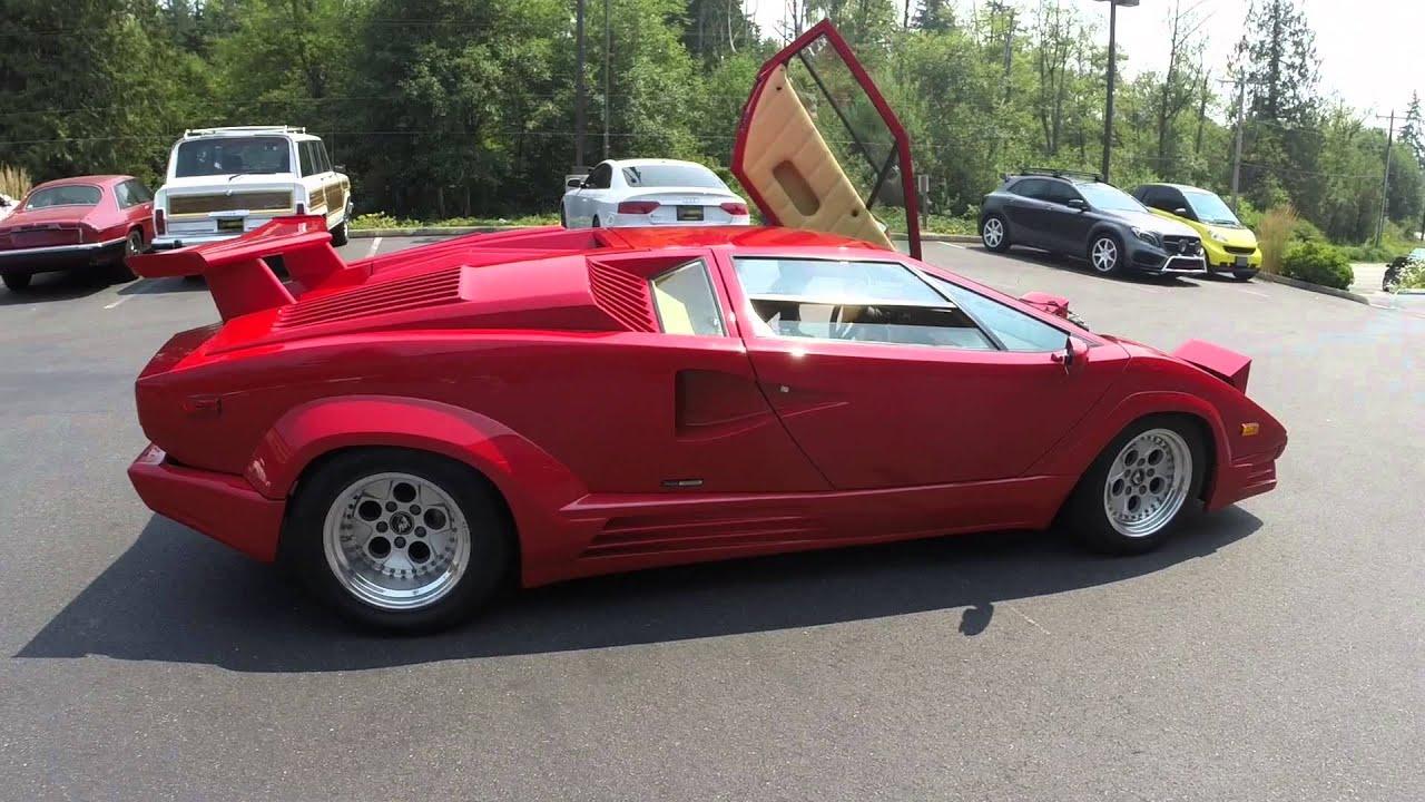 1989 Lamborghini Countach 25th Anniversary - YouTube
