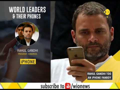 Political leaders and their smart phone devices: Who uses what?