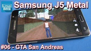 Gameplay Android - GTA San Andreas - Samsung Galaxy J5 2016 Metal