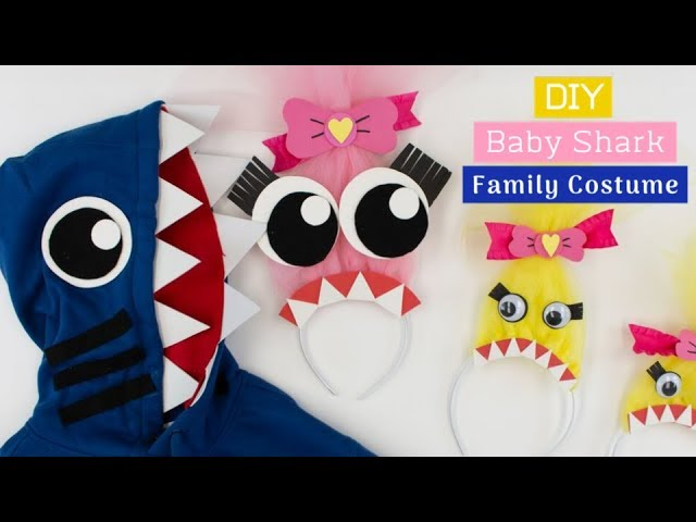 Diy Baby Shark Family Costume Beacon Adhesives Youtube