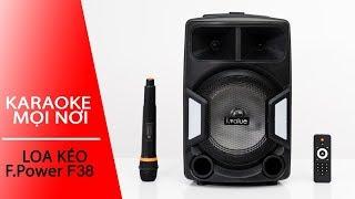 Loa kéo Bluetooth Karaoke i.value: xịn và giá rẻ không thể bỏ qua