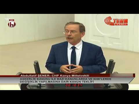 Abdüllatif Şener Ilk Meclis Konuşması / İktidarı Topa Tuttu, AKP Tepki Gösterdi