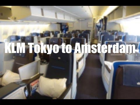 KLM World Business Class: Tokyo - Amsterdam