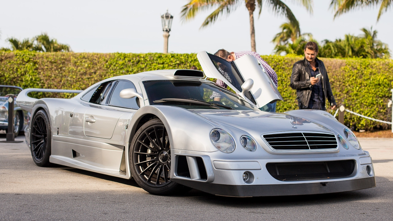 High Quality Mercedes Benz CLK GTR Super Sport   Startup U0026 Stuff