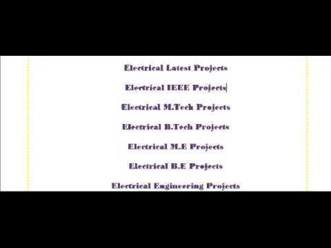 POWER ELECTRONICS PROJECTS IN MELBOURNE