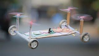 How To Make a Drone Car - Quadcopter