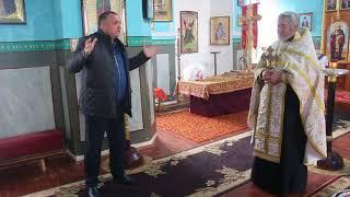 Православные села Анастасиевка благодарны Александру Пресману