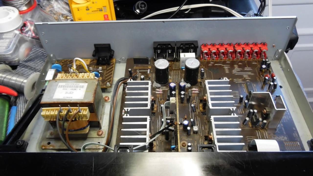 pioneer a 109r amplifier repair youtube rh youtube com Pioneer Clip Art Atari Climber Manual