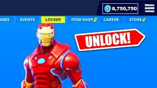 The AVENGERS ENDGAME EVENT FREE SKINS in Fortnite...