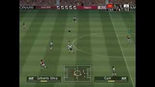 PES 3 Gameplay PC - Arsenal vs Tottenham