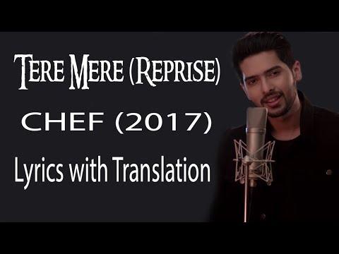 Tere Mere Song (Reprise) lyrics with translation | Feat. Armaan Malik | Amaal Mallik