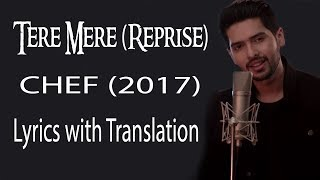 Tere Mere Song (Reprise) lyrics with translation | Feat. Armaan Malik | Amaal Mallik Mp3