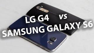 Samsung Galaxy S6 vs LG G4 - БОЛЬШОЕ СРАВНЕНИЕ от Keddr.com