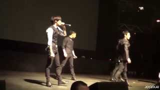 [140611] MBLAQ - Stay - Live Chile [fancam HD]