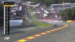 Formel 2 Belgien Samstagsrennen Horror-Crash mit Toten