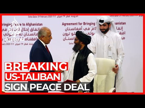 Afghanistan's Taliban, US sign peace deal