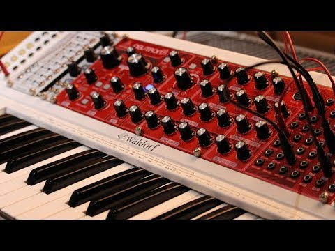 Playing an Behringer Neutron with an KB37 (Arp)