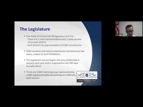 AZ Legislature 101