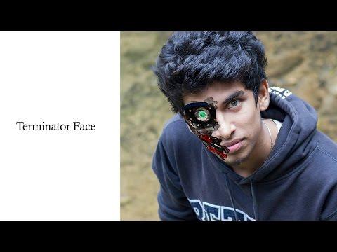 Terminator Face Morph in Photoshop