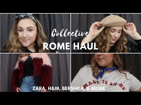 ROME, ITALY COLLECTIVE HAUL | What Have I Bought This Semester?