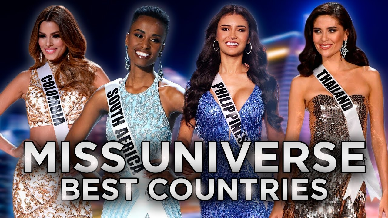 TOP 15 BEST COUNTRIES IN MISS UNIVERSE (2015 to 2020)