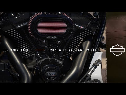 Screamin' Eagle 128 & 131 Stage IV Kits | Harley-Davidson