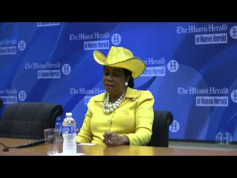 Interview with Congresswoman Frederica Wilson