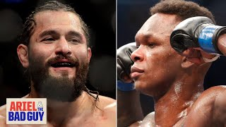 Jorge Masvidal or Israel Adesanya? Who's the fighter of the year? | Ariel & the Bad Guy
