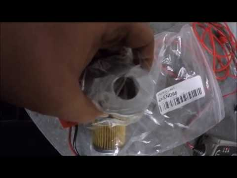 Saxo VTS race fuel filter change and autopsy - Behind The Scenes