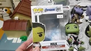 Avengers Endgame Hulk Pop Funko review