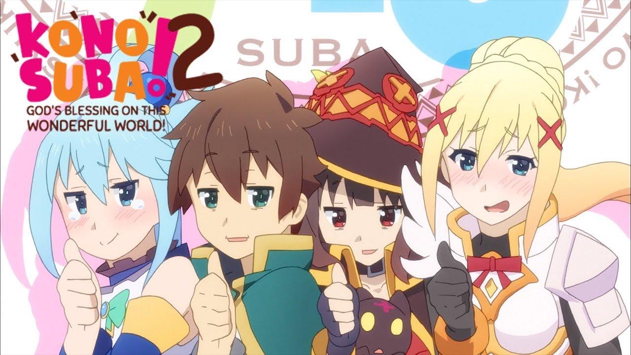 KONOSUBA -God's blessing on this wonderful world! 2 - Opening   Tomorrow -  YouTube