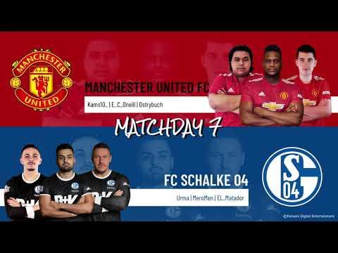 Manchester United FC vs. FC Schalke 04 | Highlights Matchday 7 eFootball.Pro IQONIQ 2020-2021