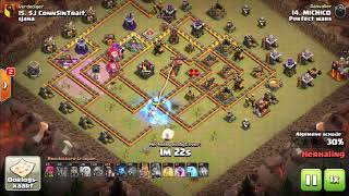 CWLr | Quarterfinals | Perfect Wars vs Sjana | Recap | Clash of clans