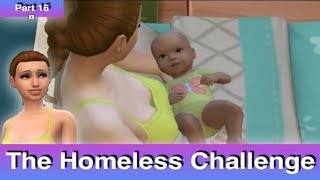 The Sims 4: Homeless Challenge // You Can