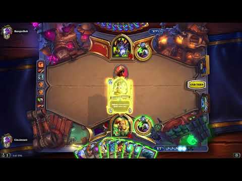 Wild Hearthstone: Quest Plot Twist Mecha'thun Warlock vs. Warlock (Sathrovarr Patch, Nov. 2019)