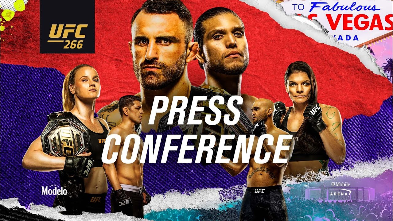 Download UFC 266: Pre-fight Press Conference