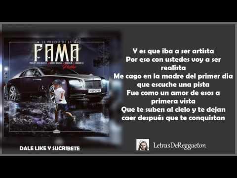El Precio De La Fama Con Letra - Pusho Original 2017