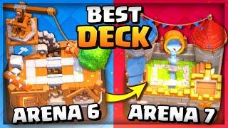 BEST ARENA 6 DECK 2021! Clash Royale Arena 6 Best Deck + INSANE EASY WINS!