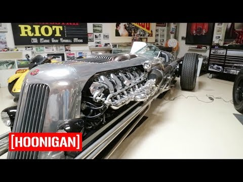 [HOONIGAN] Field Trip 003: The Hoonigans Visit Jay Leno's Garage