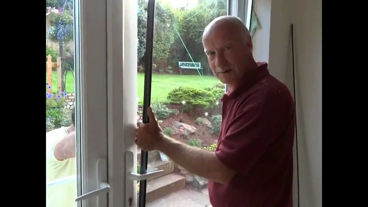 How To Remove A Window And Fit French Doors Youtube