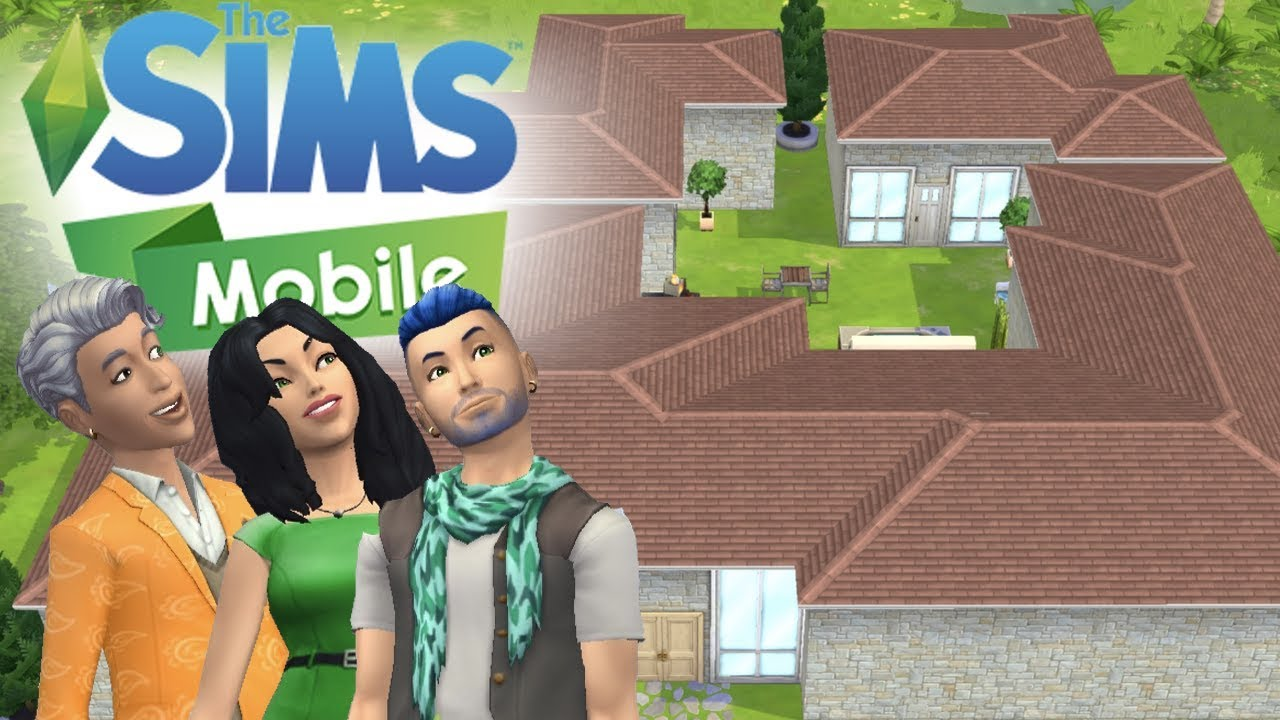 The Sims Mobile Massive House Speed Build Remodel Keeping Up