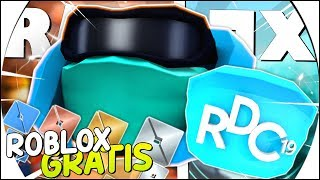 NEW FREE ITEMS of the RDC EVENT! CAN WE MAKE HATS? and NEW ROBLOX EMOTES 😱