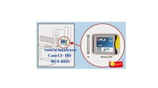 Ghid instalare Digi Smart Cam CI+ HD- RCS-RDS