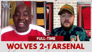 Wolves 2-1 Arsenal | Corruption!!! (DT Rages at the Referee)