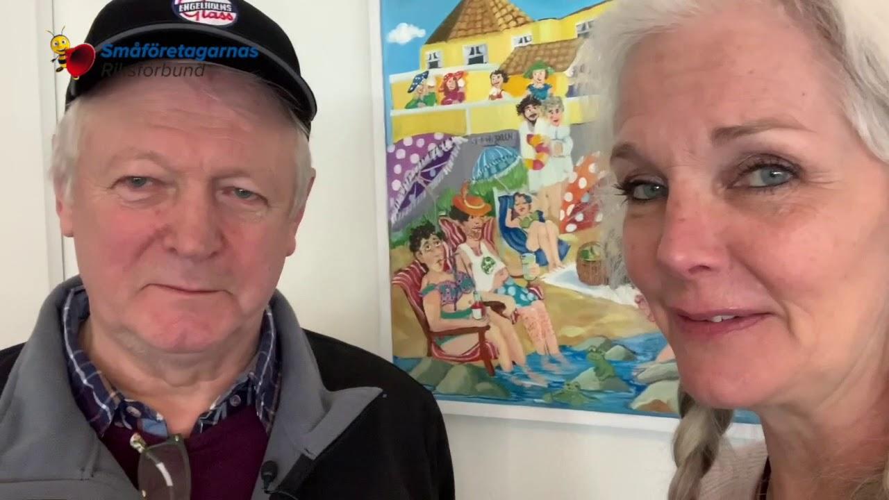 Mr Glass - Ebba & Lillton = #lovelocalahlm