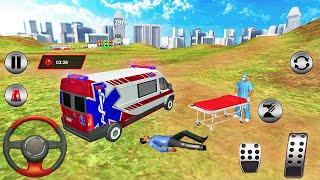 City Ambulance Emergency Rescue Simulator 2021-Android 게임 플레이