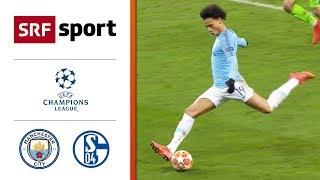 Manchester City - FC Schalke 04 7:0   Highlights - Champions League 2018/19