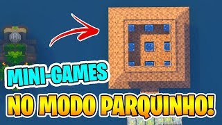 FORTNITE | 4 MINI GAMES NO MODO PARQUINHO - PARTE 1